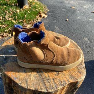 Well loved Ugg Hamden sneaker boot